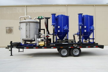 Trailer Mounted Vacuum Truck Units