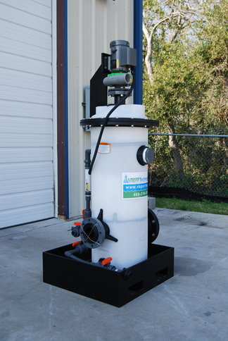 VT50PM-200 Scrubber with Blower